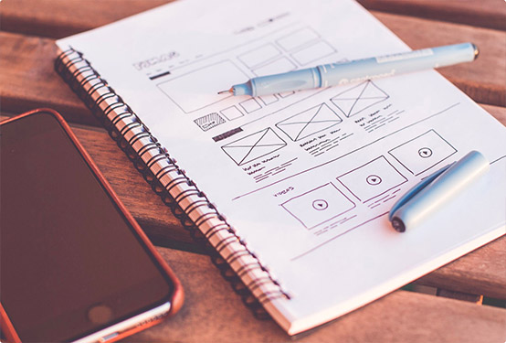Breaking down section by section, using prototyping web design principles to understand your audience